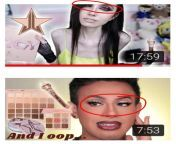 Eugenia's eyeshadow video vs normal person's video. Girl at least put your f*cking eyes in the video half the time. from and girl six video xxx new